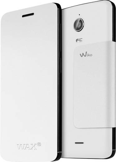 WIKO Flip Cover Flip Cover Passend für: Wiko Wax Weiß