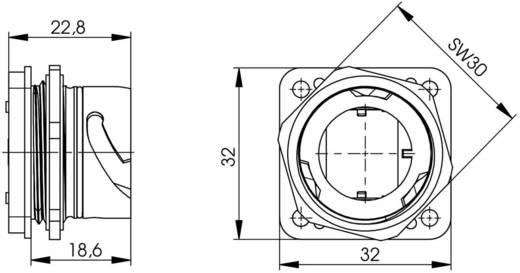 STX V1 RJ45-Flanschset Metall Variante 1 Kupplung, Einbau Pole: 8P8C J80020A0001 Metall Telegärtner J80020A0001 1 St.