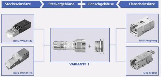 STX V1 Flanschgehäuse Metall Variante 1 H86000A0000 Metall Telegärtner H86000A0000 1 St.