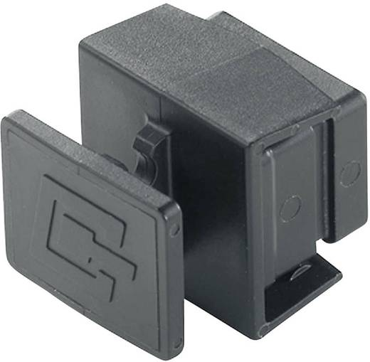 Staubschutzkappe für Flansche Variante 4 H80030A0005 Schwarz Telegärtner H80030A0005 1 St.