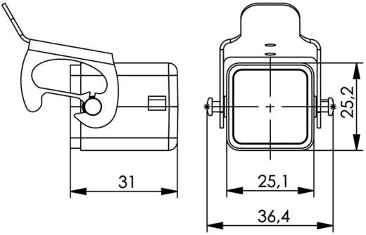 STX V5 Staubschutzkappe für Stecker Variante 5 H80030A0002 Aluminium Telegärtner H80030A0002 1 St.