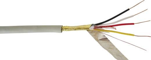 Telefonkabel J-Y(ST)Y 4 x 2 x 0.60 mm Kiesel-Grau (RAL 7032) VOKA Kabelwerk 100817-00 Meterware