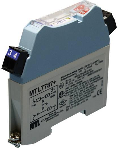 EX-Schutzbarriere Blau-Grau Routeco MTL7787+ (L x B x H) 105 x 12.6 x 90 mm