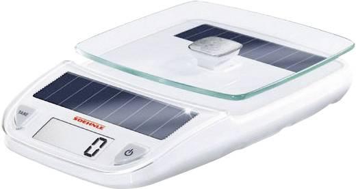 Digitale Küchenwaage digital Soehnle Easy Solar Wägebereich (max.)=5 kg Weiß