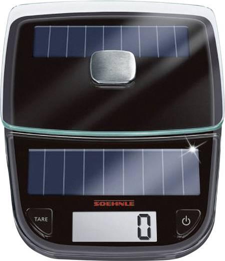Digitale Küchenwaage digital Soehnle Easy Solar Wägebereich (max.)=5 kg Grau