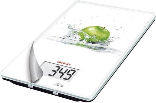 Digitale Küchenwaage digital Soehnle Mix & Match Funny Apple Wägebereich (max.)=5 kg Weiß
