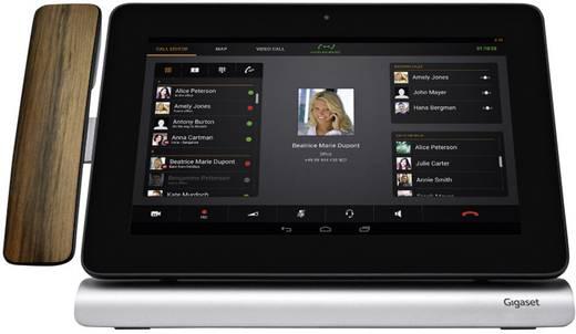 Schnurloses Telefon VoIP Gigaset Pro Maxwell 10 Android, Kamera, Bluetooth, WLAN Touch-Farbdisplay Schwarz