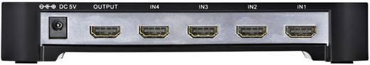 4 Port HDMI-Switch Inakustik Premium 4 > 1 gestion EDID LED-Anzeige 1920 x 1080 Pixel