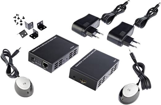 HDMI™ Extender (Verlängerung) über Netzwerkkabel RJ45 Inakustik 009120012 100 m