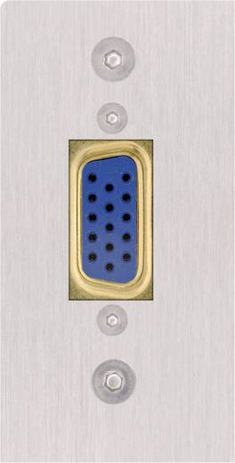 VGA AV Blende [1x VGA-Buchse - 1x Löten] 0 m Silber Inakustik