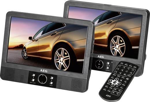 kopfst tzen dvd player mit 2 monitoren aeg dvd4552lcd bilddiagonale 22 9 cm 9 zoll. Black Bedroom Furniture Sets. Home Design Ideas