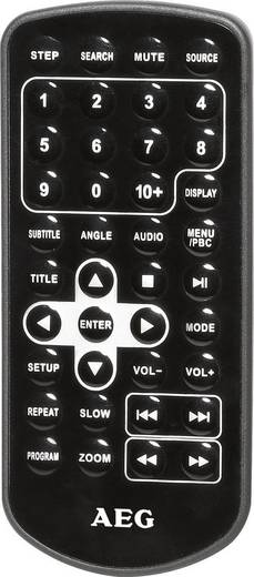 Kopfstützen DVD-Player mit 2 Monitoren AEG DVD4552LCD Bilddiagonale=22.9 cm (9 Zoll)