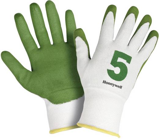Honeywell 2332545 Schnittschutzhandschuh Check & Go Green PU 5 Dyneema®, Polyamid und Verbundfaser Größe 11