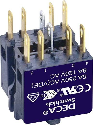 Kontaktelement 2 Öffner, 2 Schließer 250 V/AC DECA ADA16-A 1 St.