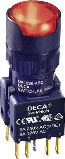 Drucktaster 250 V/AC 5 A 1 x Aus/(Ein) DECA ADA16S6-MR2-B2CR IP65 tastend 1 St.