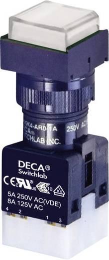 DECA ADA16S6-MS1-B2KW Drucktaster 250 V/AC 5 A 1 x Aus/(Ein) IP65 tastend 1 St.