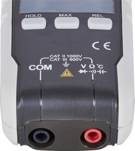 Stromzange digital VOLTCRAFT VC590 OLED Kalibriert nach: ISO OLED-Display CAT III 600 V, CAT II 1000 V Anzeige (Counts):