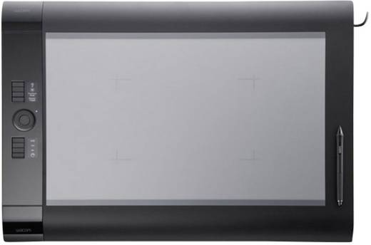 USB-Grafiktablett Wacom Intuos4 XL CAD Schwarz