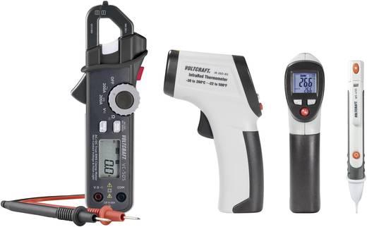 Stromzange, Hand-Multimeter digital VOLTCRAFT Kalibriert nach: Werksstandard (ohne Zertifikat) CAT III 600 V, CAT IV 3
