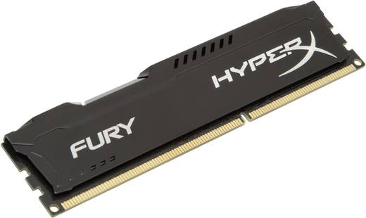 PC-Arbeitsspeicher Modul Kingston HyperX Fury Black HX313C9FB/8 8 GB 1 x 8 GB DDR3-RAM 1333 MHz CL9 9-9-27