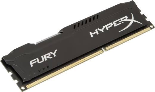 PC-Arbeitsspeicher Modul Kingston HyperX Fury Black HX318C10FB/8 8 GB 1 x 8 GB DDR3-RAM 1866 MHz CL10 11-10-35
