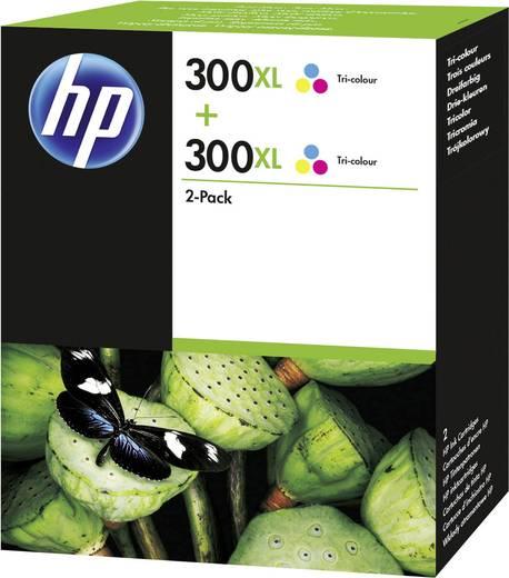 HP Tinte 300XL Original 2er-Pack Cyan, Magenta, Gelb D8J44AE