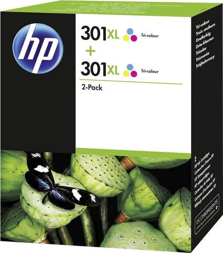 HP Tinte 301XL Original 2er-Pack Cyan, Magenta, Gelb D8J46AE