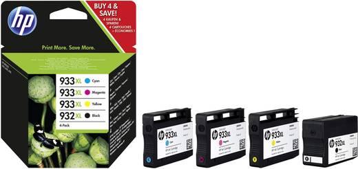 HP Tinte 932XL, 933XL Original Kombi-Pack Schwarz, Cyan, Magenta, Gelb C2P42AE