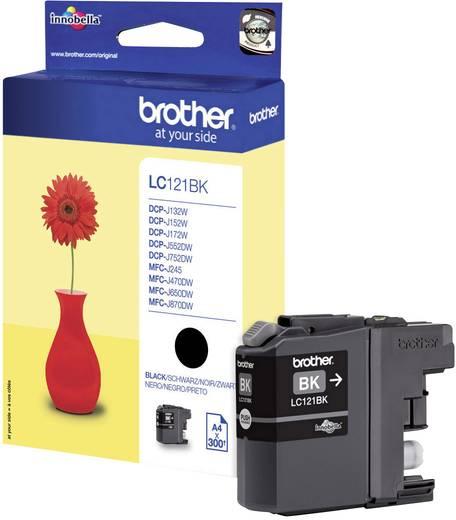 Brother Tinte LC-121BK Original Schwarz LC121BK