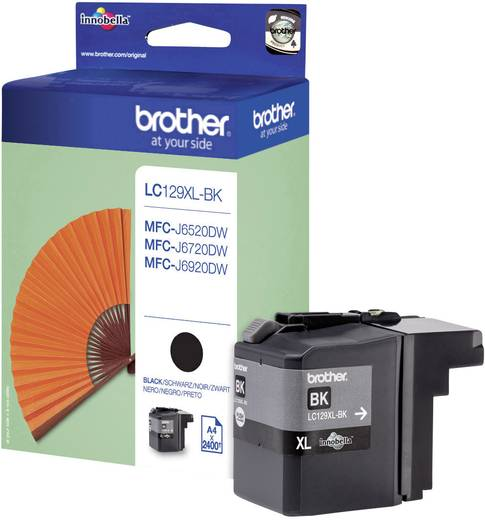 Brother Tinte LC-129XLBK Original Schwarz LC129XLBK