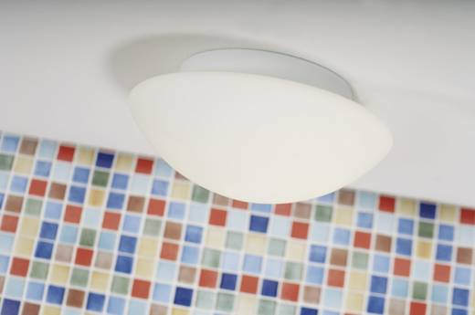 Bad-Deckenleuchte Halogen, LED E27 80 W Nordlux Ufo Maxi 25626001 Weiß