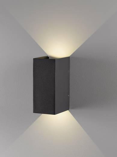 LED-Außenwandleuchte 6 W Warm-Weiß Nordlux Norma 77611010 Anthrazit