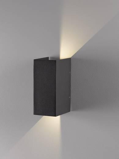 nordlux norma 77611010 led au enwandleuchte 6 w warm wei anthrazit kaufen. Black Bedroom Furniture Sets. Home Design Ideas