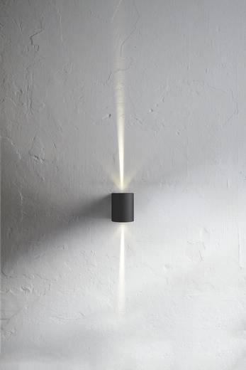 LED-Außenwandleuchte 10 W Warm-Weiß Nordlux Canto 77571003 Schwarz