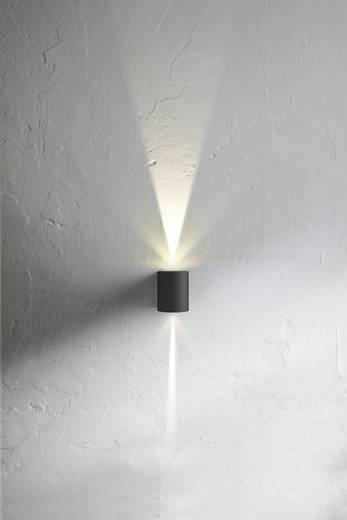 LED-Außenwandleuchte 10 W Warm-Weiß Nordlux Canto 77571010 Grau