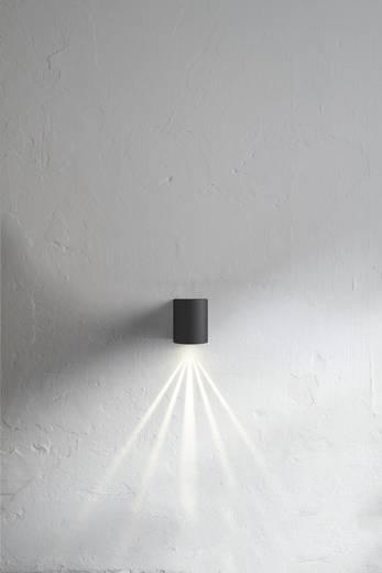 Nordlux Canto 77571034 LED-Außenwandleuchte 10 W Warm-Weiß Edelstahl