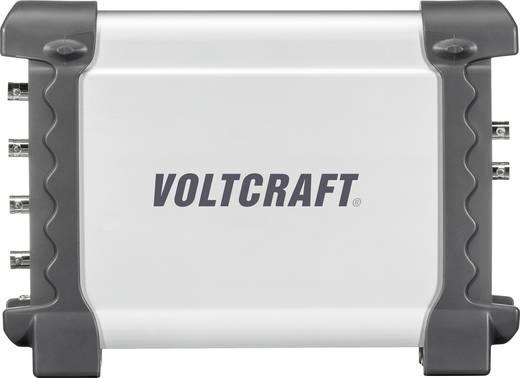 VOLTCRAFT DSO-2074G USB-Oszilloskop 70 MHz 4-Kanal 200 MSa/s 16 Mpts 8 Bit Kalibriert nach DAkkS Digital-Speicher (DSO),