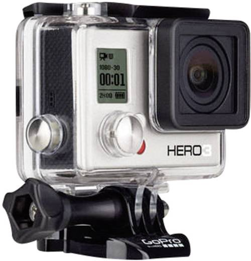 GoPro Action cam Hero HD 3 White 3660-024 Action Cam Full-HD