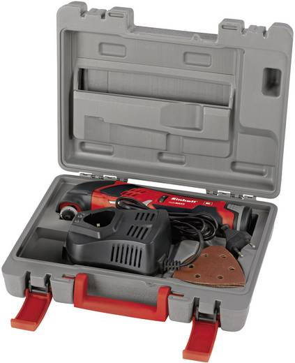 Akku-Multifunktionswerkzeug inkl. Zubehör, inkl. Akku, inkl. Koffer 14teilig 12 V 1.3 Ah Einhell TE-MG 12 Li 4465031