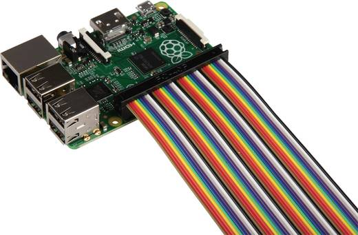 Raspberry Pi® Verbindungskabel Bunt RB-CB2-30 Raspberry Pi®