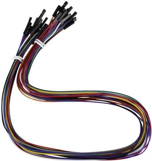 Raspberry Pi® Verbindungskabel Bunt RB-CB3-50 Raspberry Pi®
