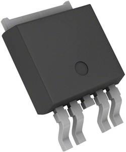 Régulateur de tension - Linéaire Infineon Technologies TLE42754D PG-TO252-5 Positif Fixe 450 mA 1 pc(s)