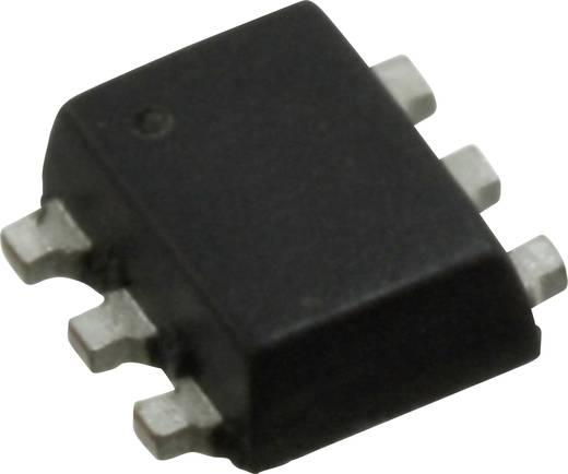 MOSFET NXP Semiconductors 2N7002PV,115 2 N-Kanal 330 mW SOT-666