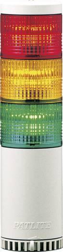 Signalsäulenelement Patlite LCE-302UFBW-RYG Rot, Gelb, Grün Rot, Gelb, Grün Dauerlicht, Blinklicht 24 V/DC, 24 V/AC