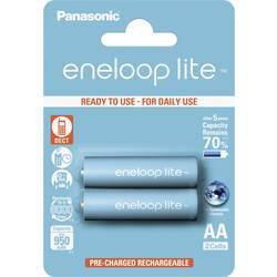 Akumulátor Panasonic eneloop Lite, NiMH, AA, 900 mAh, 2 ks