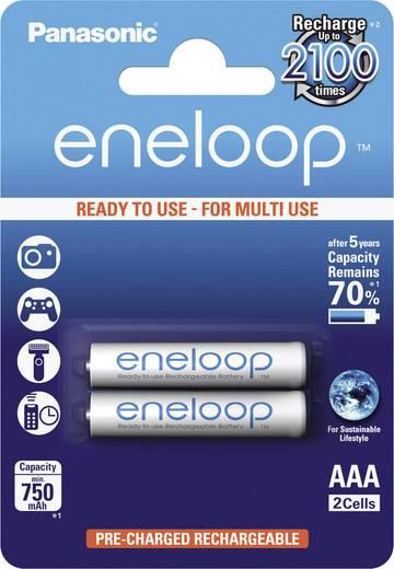 Panasonic eneloop HR03 Micro (AAA)-Akku NiMH 750 mAh 1.2 V 2 St.