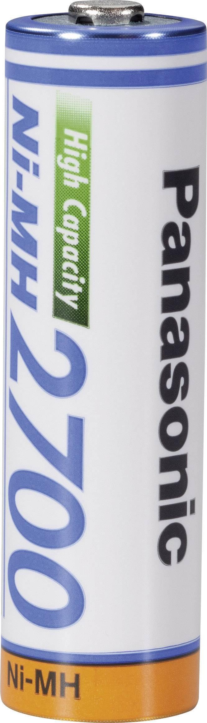 Panasonic HR06 Mignon (AA) Akku NiMH 2700 mAh 1.2 V 1 St.