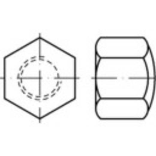 Sechskant-Hutmuttern M10 DIN 917 Stahl galvanisch verzinkt 100 St. TOOLCRAFT 118851