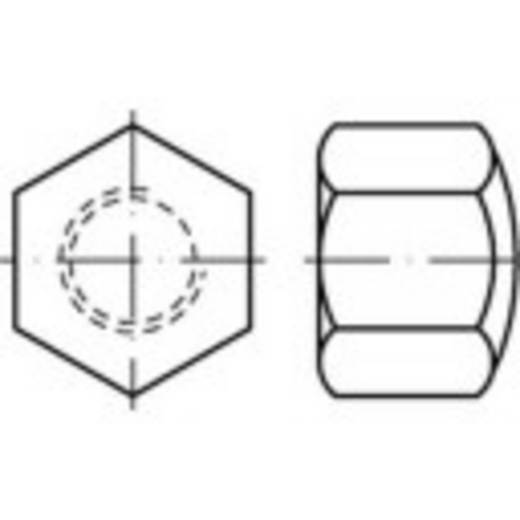 Sechskant-Hutmuttern M16 DIN 917 Stahl 50 St. TOOLCRAFT 118847