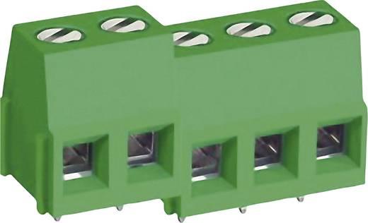 Schraubklemmblock 3.30 mm² Polzahl 3 MB310-500M03 DECA Grün 1 St.